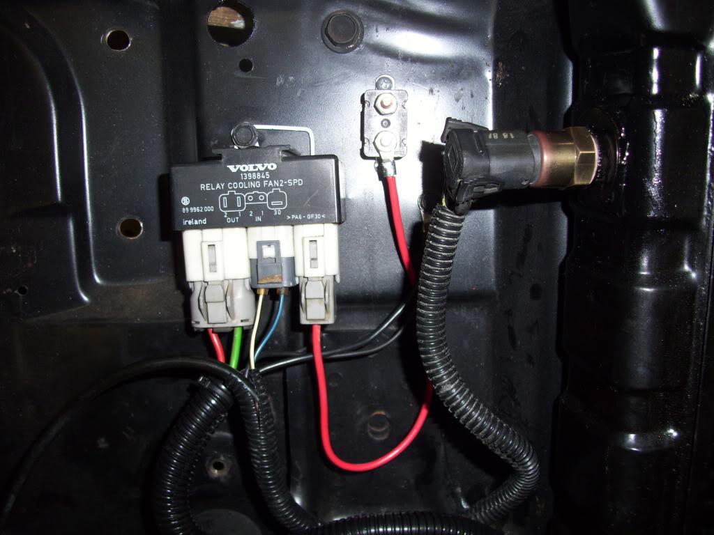 electrische fan thermostaatschakelaar
